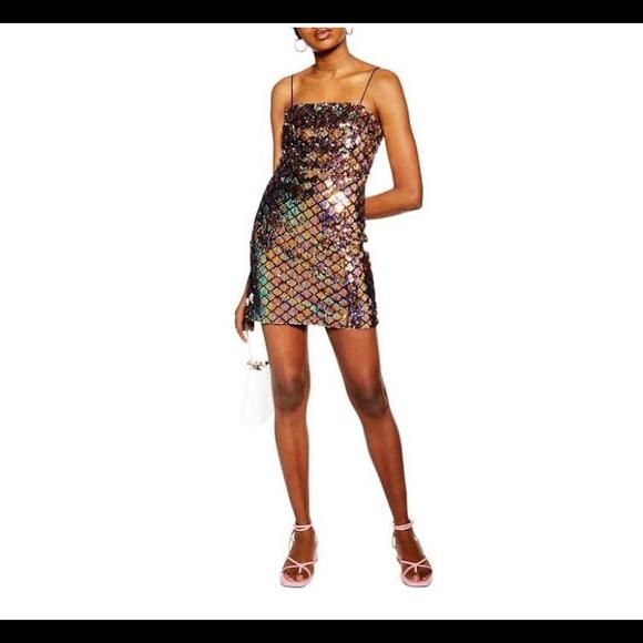 Topshop Dresses & Skirts - Top Shop Sequin Dress